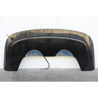 Saab 9-3 Convertible 08-11, Top Trunk Cover Panel Tonneau, Black, Factory OEM