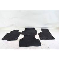 VW CC Rline Floor Carpet Mats Assembly Black OEM 09 10 11 12
