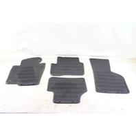VW CC Rline All Season Floor Carpet Mats Assembly Black OEM 09 10 11 12