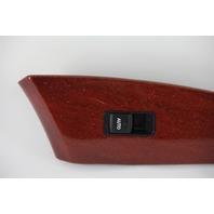Lexus ES350 Rear Right Door Window Switch W/ Wood Trim Bezel 07-10