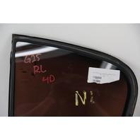 Infiniti G25 82263-JK000 Rear Left/Driver Vent Glass OEM 11-12 2011 2012