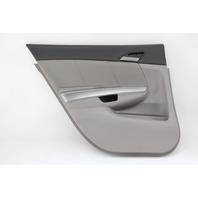Honda Accord Sedan 08 09 10 11 12 Door Panel Rear Left, Cloth, Gray 83752-TA0-A0