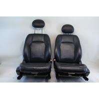 Mercedes Benz C320 Sedan 03 04 05 06 07 Front Seat Assembly Right/Left Set Black Leather