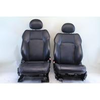 Mercedes Benz C230 Sedan 03 04 05 06 07 Front Seat Assembly Right/Left Set Black Leather