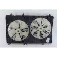 Toyota Highlander 08 09 10 Cooling Fan Shroud Assembly w/Motors 16711-31360 OEM
