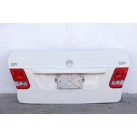 Saab 9-3 Sedan 03-07 Sedan Trunk Deck Luggage Lid, White 12797736, OEM