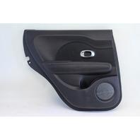 Kia Soul 14-15 Door Panel Black Rear Left/Driver Side Cloth OEM