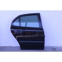 Saab 9-3 Sedan 03-07 Rear Door Assy Right Side Electric, Black 12769493