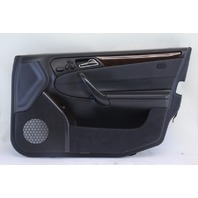 Mercedes C-Class Front Right/Pass Door Panel Black/Wood Trim OEM 2001-2005 2037206662