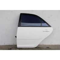 Toyota Camry 07-11 Rear Door Assy. Left/Driver's Side Electric, White