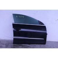 VW CC Rline Front Right/Passenger Side Door Assembly Black OEM 09-17
