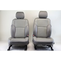Toyota 4Runner 03-04, Front Seat Assembly, Set Left & Right Side, Gray Leather OEM