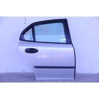 Saab 9-3 Sedan 03-07 Rear Door Assy Right Side Electric, Silver 12769493