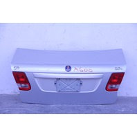 Saab 9-3 Sedan 03-07 Sedan Trunk Deck Luggage Lid, Silver 12797736
