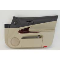 Lexus GS350 Front Right/Passenger Side Tan Door Panel Leather OEM 07-11