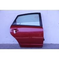 Toyota Prius 04-09 Rear Door Assy. Right/Passenger's Side Power, Barcelona Red