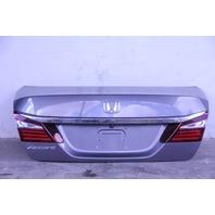 Honda Accord Sedan 13-17 Trunk Deck Luggage Lid, Gray 68500-T2A-A90ZZ OEM