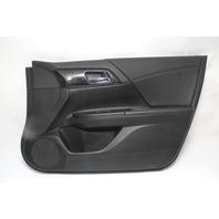 Honda Accord Sedan 13-17 Door Panel Trim, Front Right Black 83150-T2A-A01 OEM