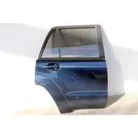 Toyota 4Runner 03-05 Door Assembly w/ Glass, Rear Right Side, Blue 67004-35171