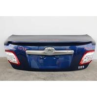 Toyota Camry Hybrid 10 11 Rear Trunk Luggage Deck Lid Blue 64401-06461 OEM