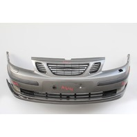 Saab 9-3 Sedan 2003 Front Bumper Face Cover Brown Full Assembly 12788061 OEM