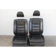 Honda Accord Sedan 11-12 Front Seat Assy Set Right Passenger/Left Driver Leather OEM
