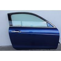 Honda Accord Coupe 08-12 Front Door Assembly Right/Passenger Electric Blue