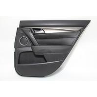 Acura TL Rear Right/Passenger Door Panel Lining Trim Black  OEM 12 13 14