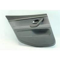 Saab 9-3 Sedan 03-07 Door Panel, Rear Left/Driver Side Gray Cloth 12791654