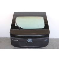 Toyota Prius Rear Trunk Deck Lid w/ out Camera Grey 10-12 OEM 67005-47250