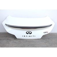 Infiniti G37 Coupe 2008 08 Trunk Deck Lid Tail Gate White H430M-JL0MB OEM