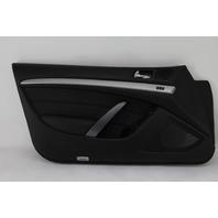 Infiniti G37 Coupe 08-13 Front Left Door Panel, Black 80901-JL12B OEM