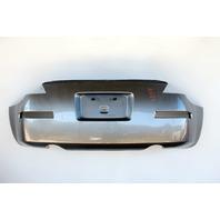 Nissan 350Z Convertible 03-09 Rear, Bumper Face Cover, Silver HEM22-CF41H