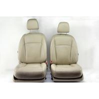 Lexus ES350 10 Front Tan Driver Right/Left Passenger/Driver Seat Set Leather OEM