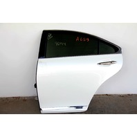 Lexus ES350 Rear Left/Driver Side Door Assembly White 67004-33180 OEM 07 08 09 10 11 12