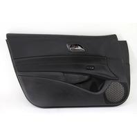 Acura ILX Front Left/Driver Door Panel Black Leather OEM 16-17