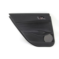 Acura ILX Rear Left/Driver Door Panel Black Leather OEM 16-17