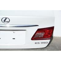 Lexus ES350 Trunk Decklid Luggage Lid White  OEM 2010 2011 2012 10 11 12