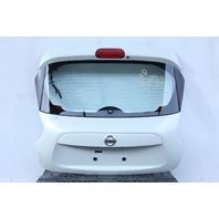 Nissan Juke 11-12, Trunk Deck Hatch Lid Assembly, White KMA0M-1KMMA, Factory OEM