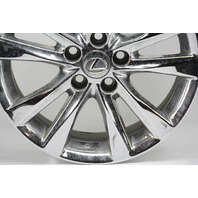 Lexus ES350 Rim Wheel Chrome 17in 10 Spoke #1 42611-33700 OEM 10 11 12