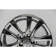 Lexus ES350 Rim Wheel Chrome 17in 10 Spoke #4 42611-33700 OEM 10 11 12