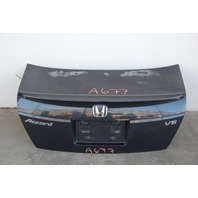 Honda Accord Sedan 08 09 10 Trunk Deck Luggage Lid w/ Spoiler Blue OEM