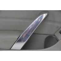 Infiniti G37 Coupe 08-13 Front Left/Driver Door Panel Black/Gray 80901-JL34C OEM