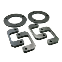 "2.5"" Front Strut Spacers Leveling Lift Kit for 2007-2013 Avalanche Made in USA Steel Laser Cut"