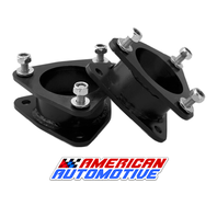 """3"""" GM Chevy Tahoe Lift Leveling Kit 3"""" 2WD 4WD Made in USA 'Road Fury' Steel Strut Spacers"""