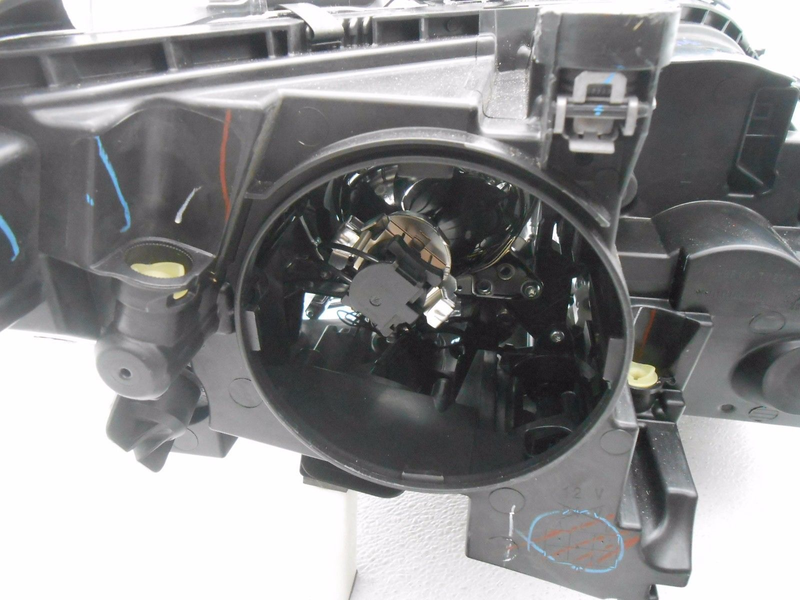 Oem mercedes ml250 ml350 ml400 ml550 left halogen headlamp for Mercedes benz ml350 headlight bulb