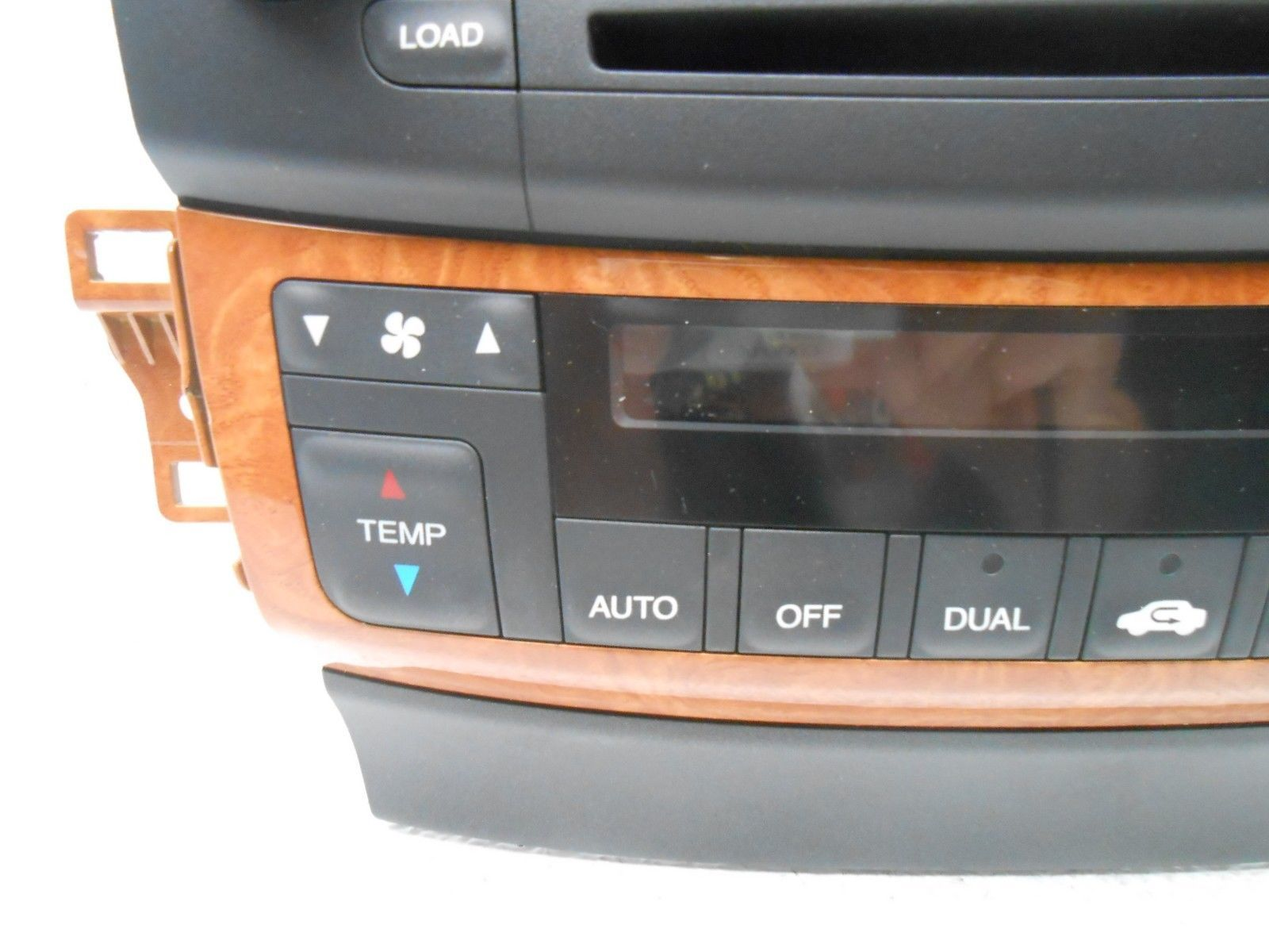 acura tsx radio receiver face only 2004 2005 oem new