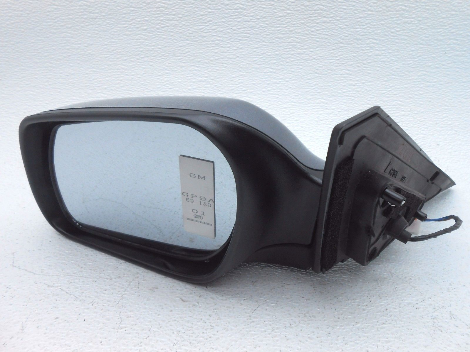 mazda 3 side mirror how to use