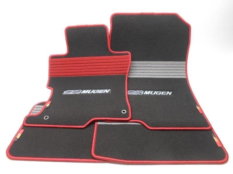 new 2008 2010 honda accord sedan mugen sport floor mat set super nice ebay. Black Bedroom Furniture Sets. Home Design Ideas