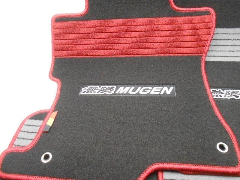 New 2008 2010 honda accord sedan mugen sport floor mat set super nice ebay for 1992 honda accord floor mats